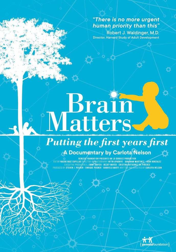 """Toys and money do not determine a child's future success. According to the documentary """"Brain Matters,"""" life experiences before the school years are key."""