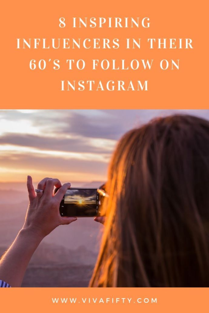 Influencers over 60 are just as inspiring, if not more so, than their younger counterparts. Here are some of our favorite instagrammers in their sixties.