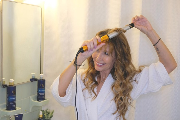 For me, hair is a form of self-expression. At 57 I enjoy wearing it long. I use serum to tame it and keep it looking and feeling healthy #ad #HairBiology #BolderNotOlder #TargetBeauty