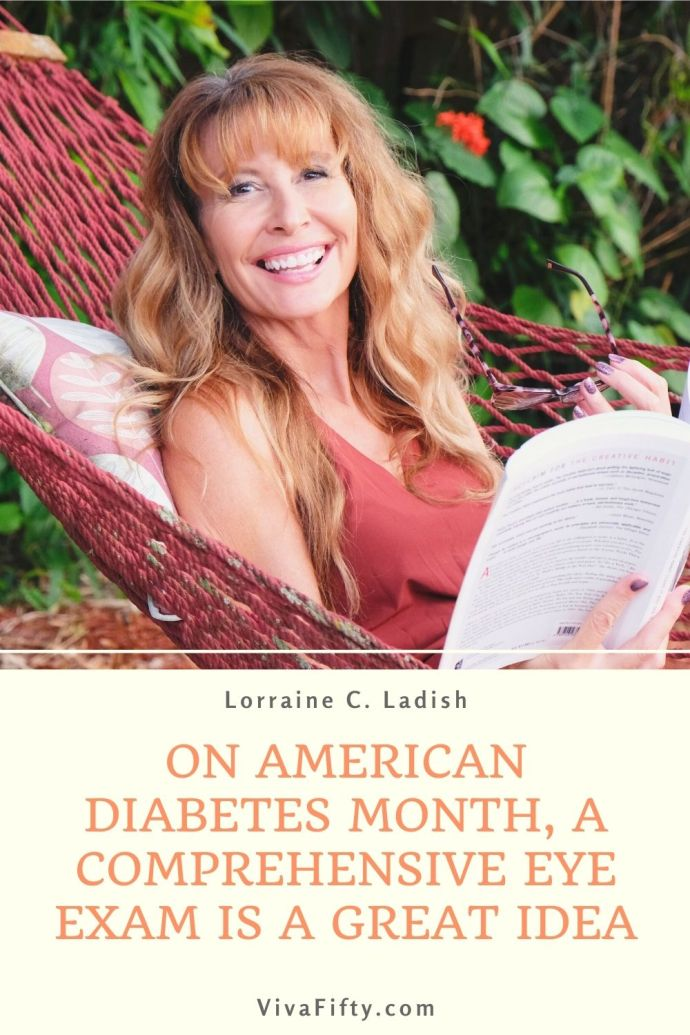 #ad November is American Diabetes Month, and a comprehensive eye exam could detect signs of diabetes. Give yourself the gift of an eye exam