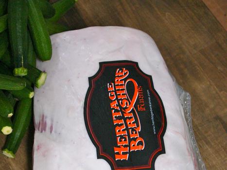Fresh Berkshire Pork Rack