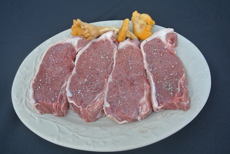Buffalo - Fresh Whole Striploin on plate