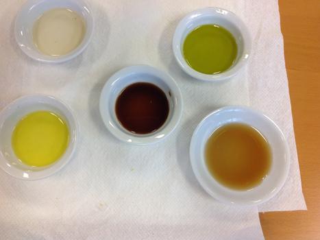 Dishes of Meyer Lemon Olive Oil