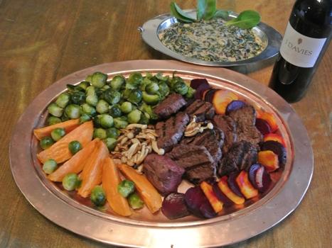buffalo tenderloin filet dinner