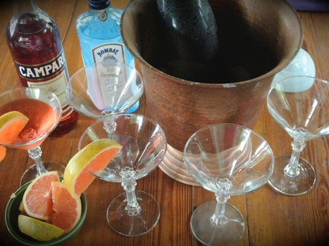 martini Italian style hapy hour