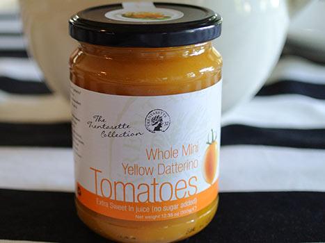 yellow datterino tomatoes