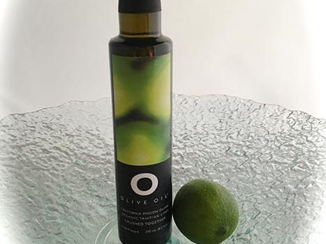 O Olive oil Tahitian lime