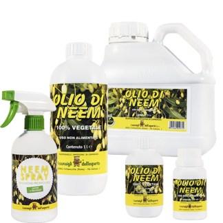 Prodotti e olio Di Neem