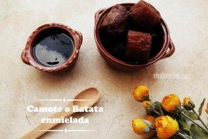 Camotes Enmielados (Boniato o Batata con Miel)