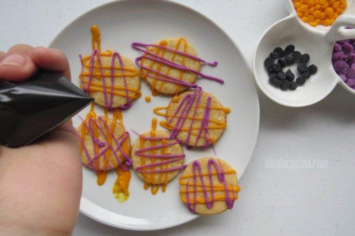 Decorar galletas para Halloween