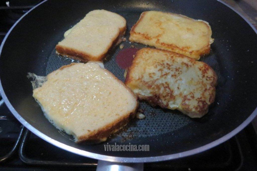 Dorar el Pan en la sarten