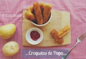 Croquetas de Papa (patata) y Tocino | Receta paso a paso