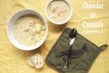 Chowder de Camarón (Gambas): receta original