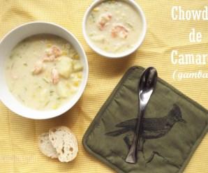 Chowder de Camarón