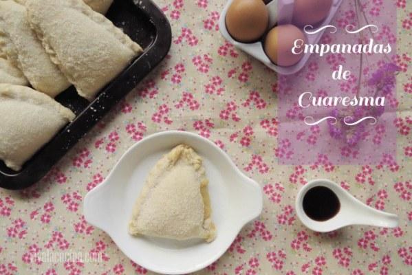 Empanadas de Cuaresma Rellenas de Crema Pastelera (Estilo Jalisco)