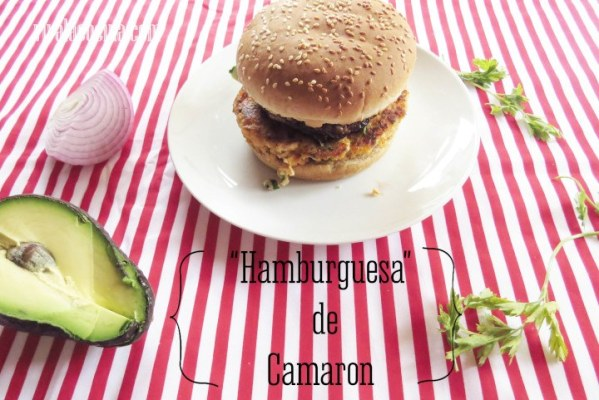 Hamburguesa de Camaron