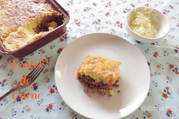 Pastel de Carne y patata