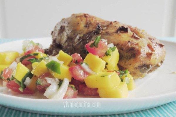 Pollo con Mango listo para comer