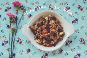 Receta de Muesli casero con Arándanos y Frutos Secos