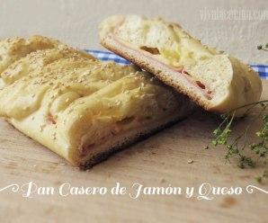 Receta de Pan Casero de Jamón y Queso: Fácil y Delicioso
