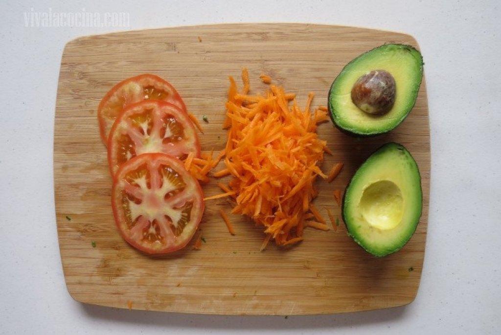 Picar Verduras para los Antojitos Mexicanos