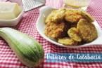 Frituras de calabacín con queso parmesano: receta de aperitivo fácil