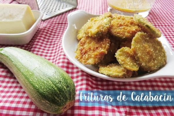 Frituras de Calabacin