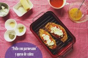 Pollo con Queso Parmesano y Queso de Cabra | Receta espectacular