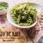 Pesto de Berzas o Pesto de Kale con Semillas de Calabaza