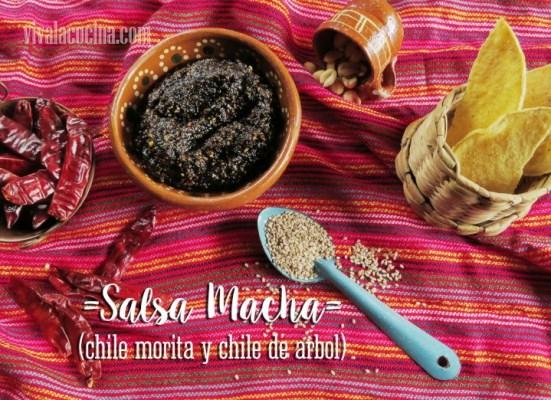 Receta de Salsa Macha
