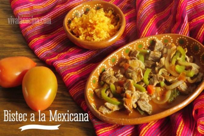 Bistec a la Mexicana: Receta Fácil