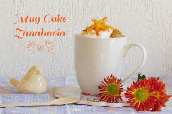 Mug Cake de Zanahoria y Yogur Griego