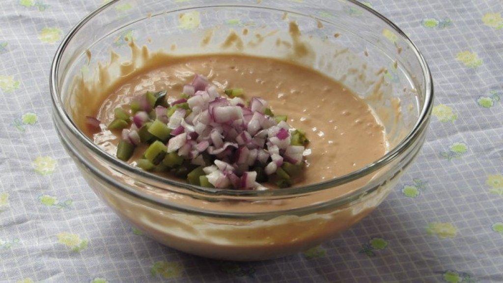 Mezclar cebolla