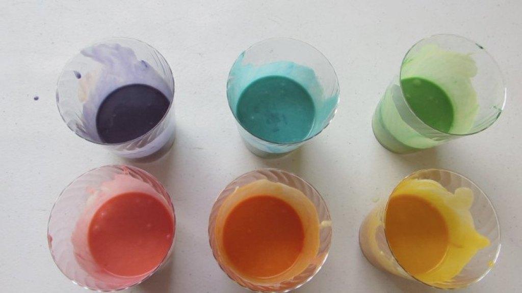 Cómo poner colores en la masa de cupcakes