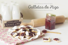 Cómo preparar Galletas caseras con mermelada de higo. Vídeo-Receta