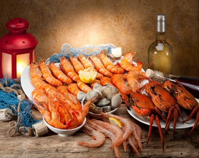 Recetas con Pescados y Mariscos