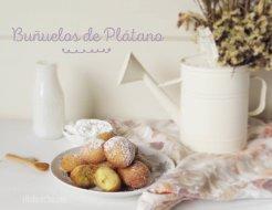 Buñuelos de Plátano Macho: Receta Dulce
