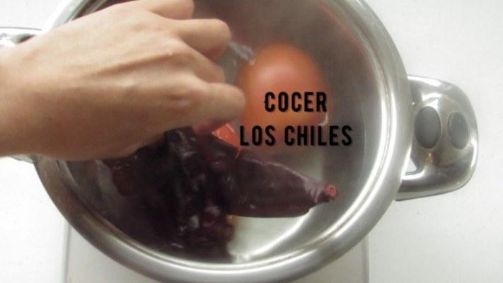 Cómo cocer los chiles