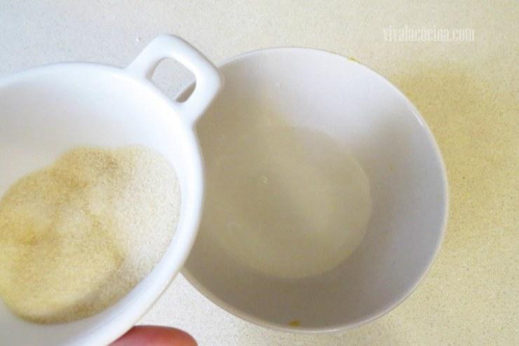 hidratar la grenetina