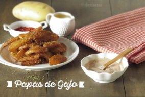 Papas Gajo Condimentadas o Patatas Deluxe: Receta al horno