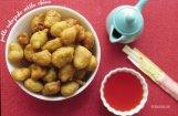 Pollo Rebozado estilo chino  Receta: bolitas de pollo con salsa agridulce