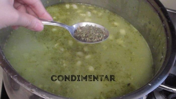 condimentar pozole verde