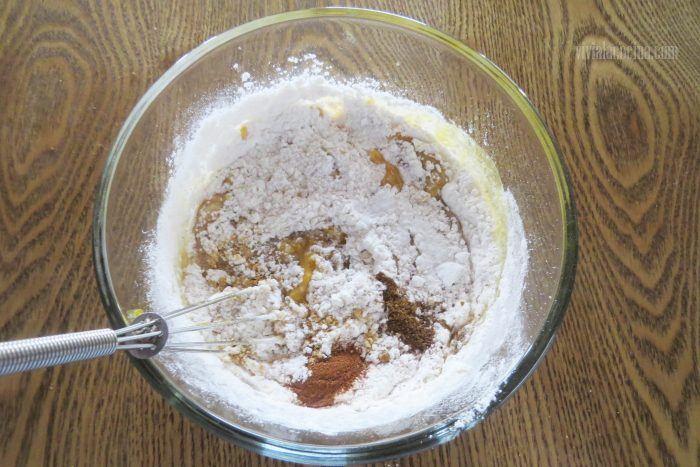 Harina para el cake de calabaza