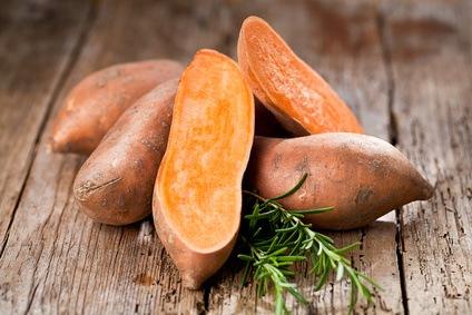 colección de recetas con camote o batata