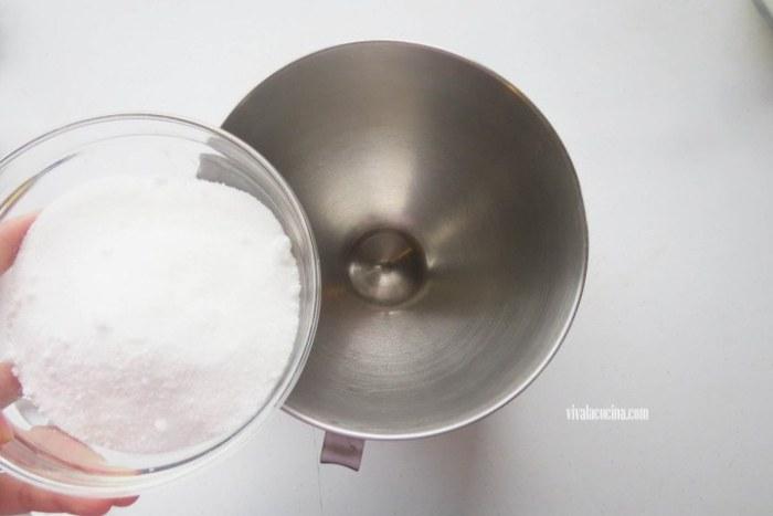 azúcar para hacer rosca de zanahoria