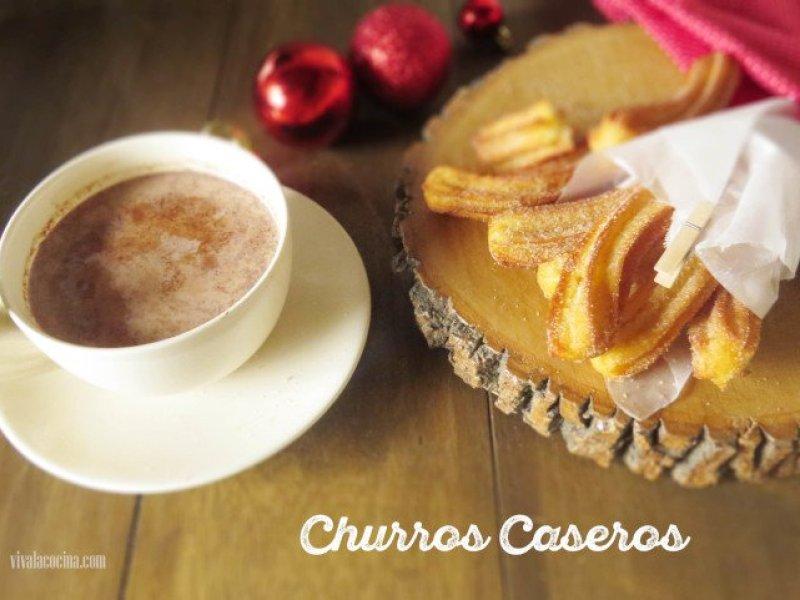 receta mexicana de churros caseros