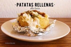 Papas o Patatas Rellenas - Receta de Baked potato en Olla Lenta