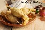 Tamales de verduras. Receta + Vídeo. Cocina mexicana tradicional