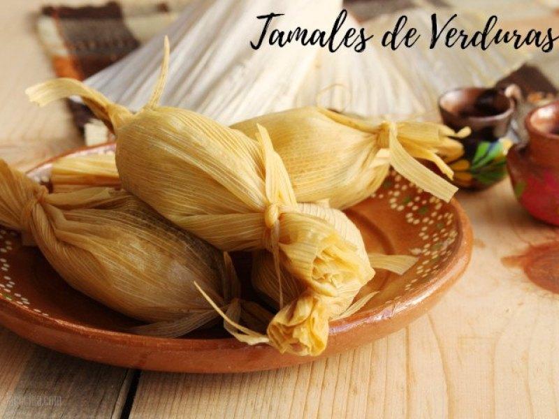 Receta de Tamales de Verduras