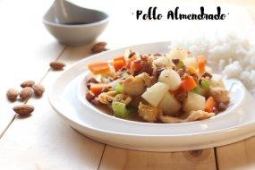 Pollo almendrado: Plato fácil de cocina china (Receta + Vídeo)